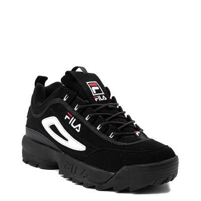 all black fila shoes