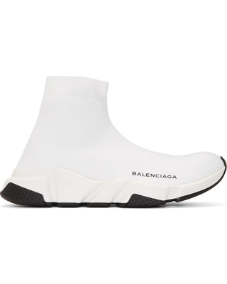 all white balenciaga runners