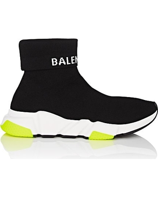 balenciaga knit sneakers