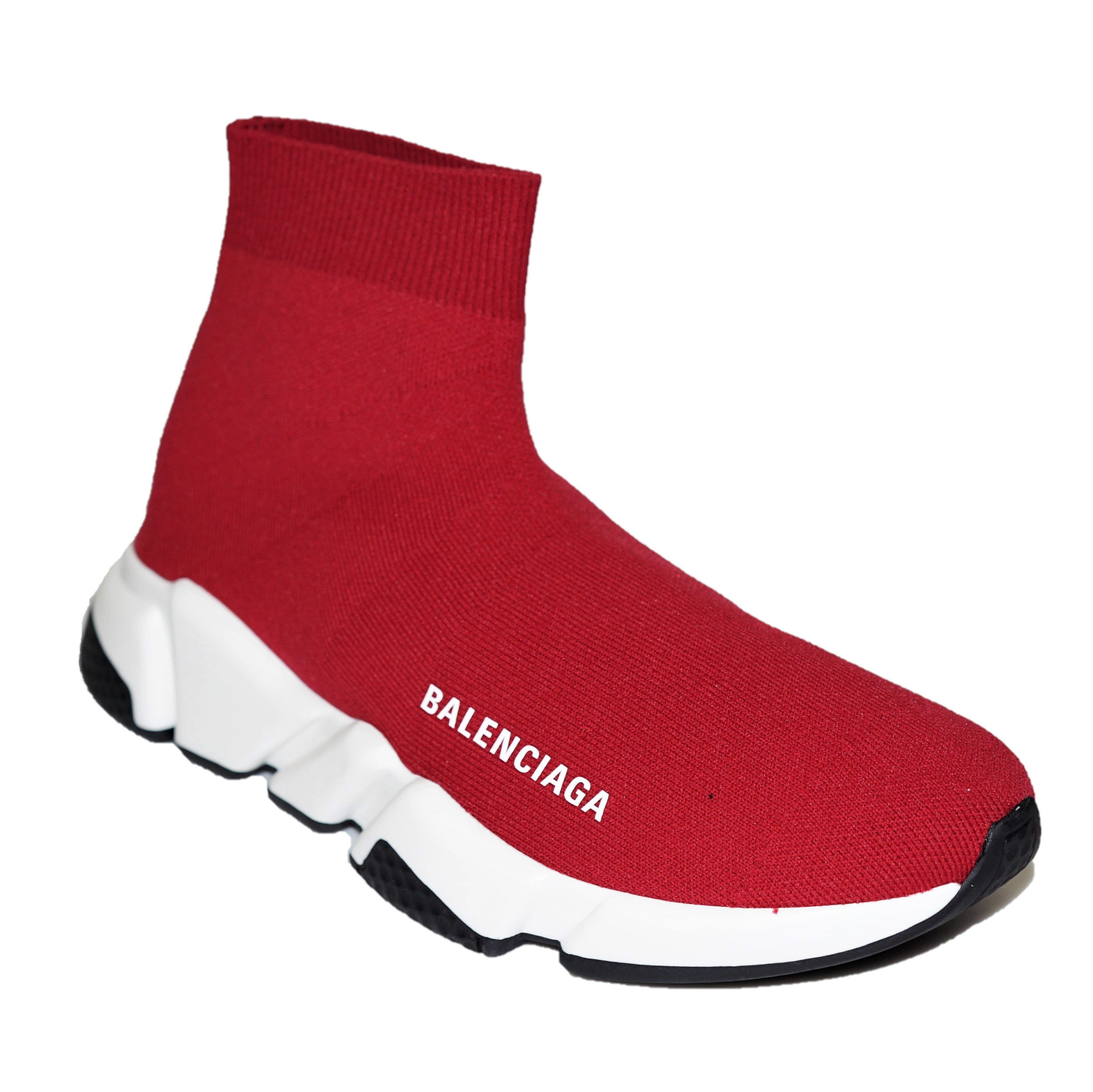 balenciaga red runners