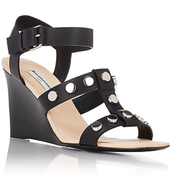 balenciaga wedges