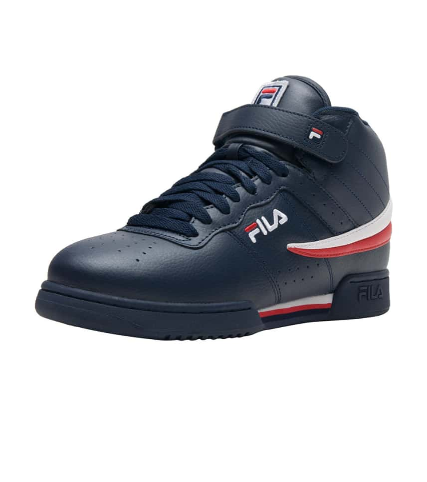 blue fila sneakers