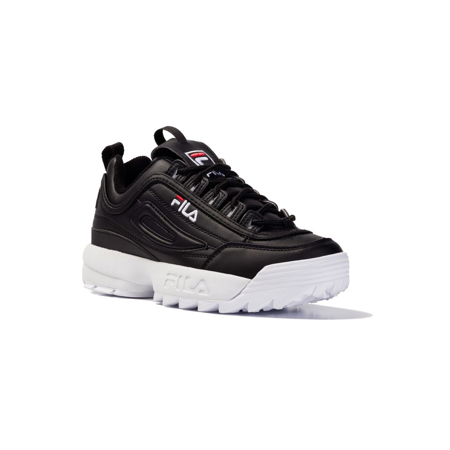 fila black and white