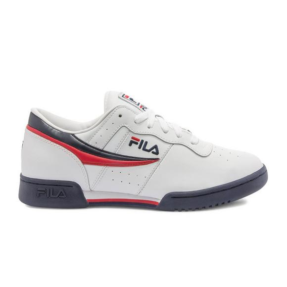 fila white running shoes