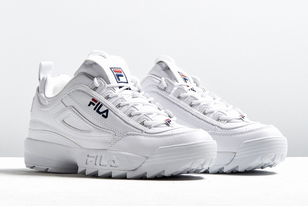 fila white shoes womens