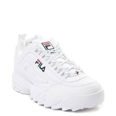 grey fila shoes