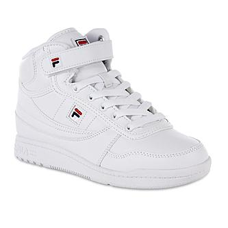womens white fila sneakers